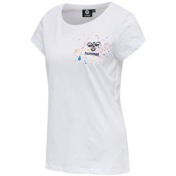 Hummel T-ShirtshmlSPRING T-SHIRT - 211383 weiß