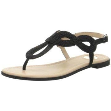 Buffalo Sandalette schwarz