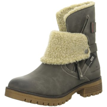 Tom Tailor Winterboot grau