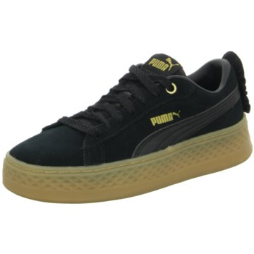 Puma Plateau SneakerSmash Platform Frill schwarz