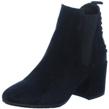 Alpe Woman Shoes Klassische Stiefelette blau