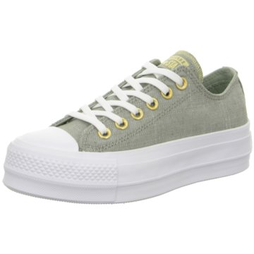 Converse Plateau Sneaker grün