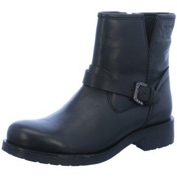 Geox Klassische Stiefelette schwarz