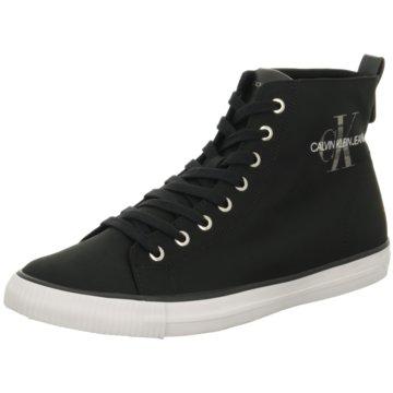 Calvin Klein Sneaker High schwarz