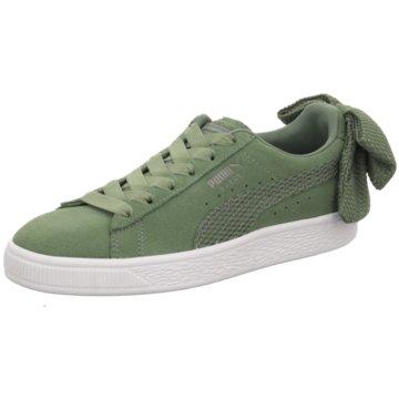 Puma Sneaker LowSuede Bow Uprising grün