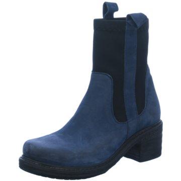 Lazamani Klassische Stiefelette blau