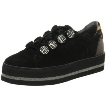 Maripé Plateau Sneaker schwarz