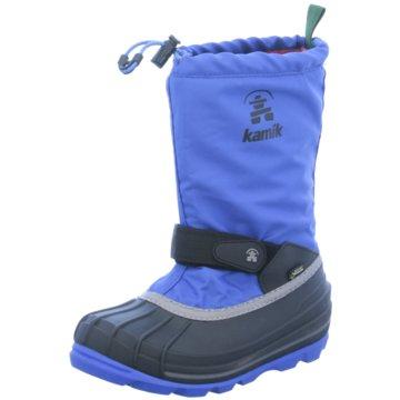 KAMIK Winterstiefel blau