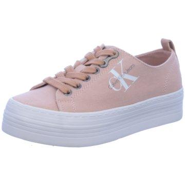 Calvin Klein Plateau Sneaker rosa