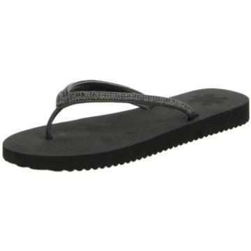 Flip-Flop Bade- Zehentrenner schwarz