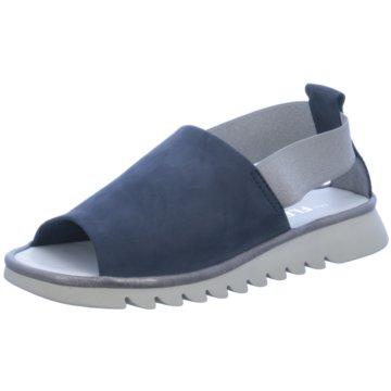The Flexx Sandale blau