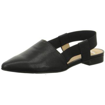 Perlato Klassischer Slipper schwarz
