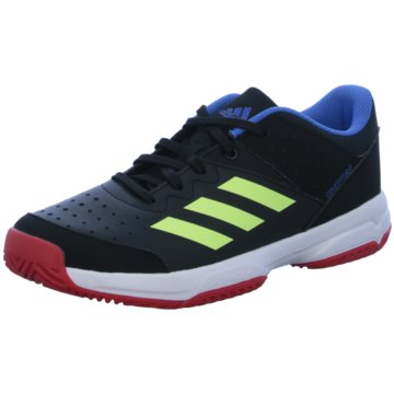 adidas Sneaker LowCourt Stabil JR Schuh - BD7409 schwarz