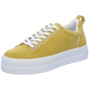 Bullboxer Plateau Sneaker gelb
