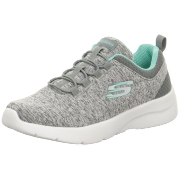 Skechers Sportlicher Schnürschuh grau
