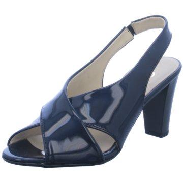separation shoes a8901 10886 Gabor Riemchensandalette blau