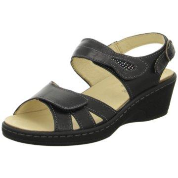Portina Komfort Sandale schwarz