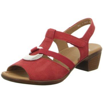 ara Komfort Sandale rot