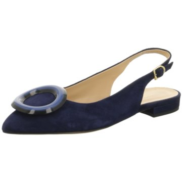 Moda di Fausto Sling Ballerina blau