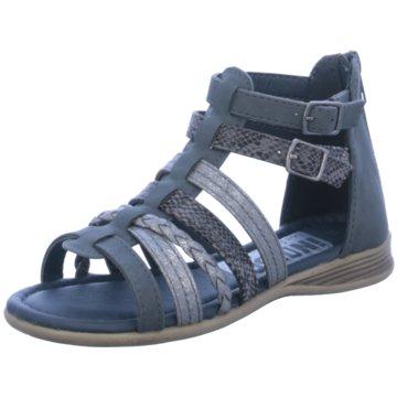 Indigo Sandale blau