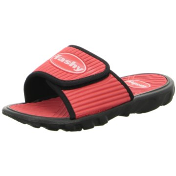 Fashy Offene Schuhe rot