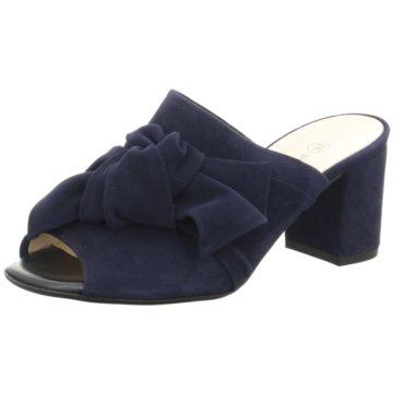 Peter Kaiser Top Trends Pantoletten blau