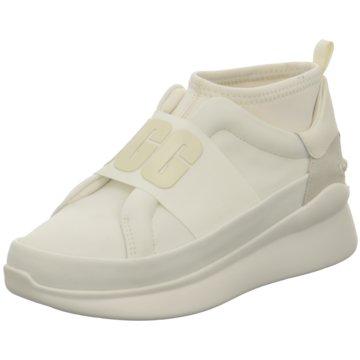 UGG Australia Plateau Sneaker weiß