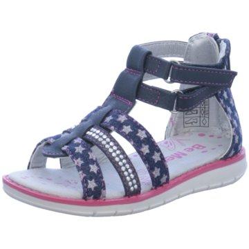 Be Mega Offene Schuhe blau