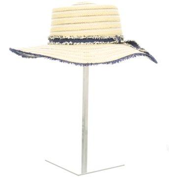 Seiden-Grohn Hut Damen blau