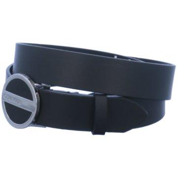 Calvin Klein Gürtel schwarz
