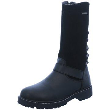 Zebra Klassischer Stiefel schwarz