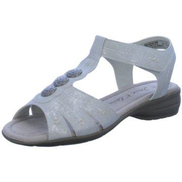 Jane Klain Komfort Sandale grau