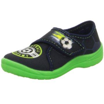 Fischer Schuhe Slipper blau