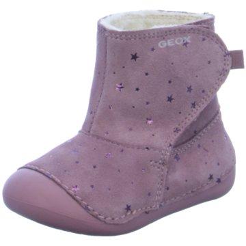 Geox Halbhoher Stiefel rosa