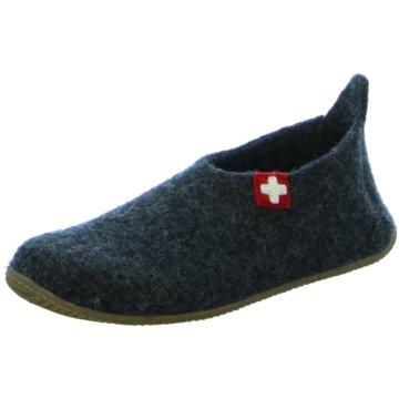 Living Kitzbühel Hausschuh grau
