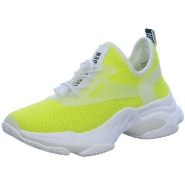 Steve Madden Sneaker High gelb