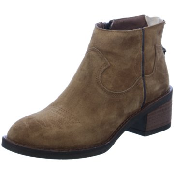 Alpe Woman Shoes Ankle Boot braun