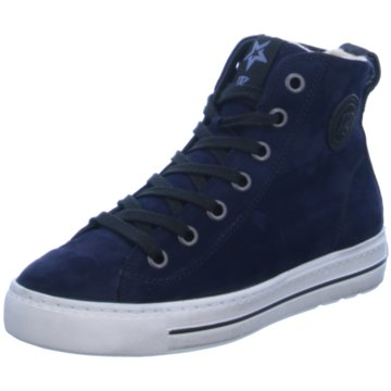 Paul Green Sneaker High blau