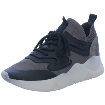 La Strada Plateau Sneaker grau