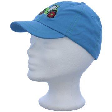 Döll Mütze Kinder blau