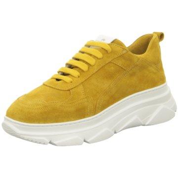 Copenhagen Plateau Sneaker gelb
