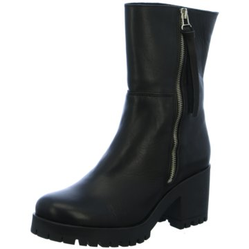 Online Shoes Plateau Stiefelette schwarz