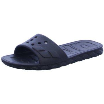arena Offene Schuhe schwarz