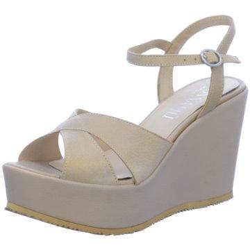 Donna Piu Plateau Sandalette beige