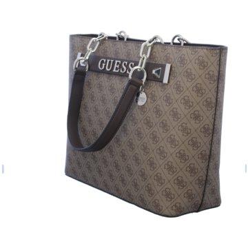 Guess Taschen Damen braun