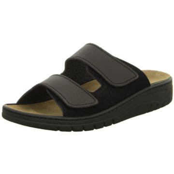 Algemare Komfort Sandale schwarz