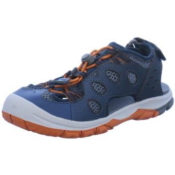 JACK WOLFSKIN Offene Schuhe blau