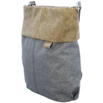 Zwei Taschen Damen grau