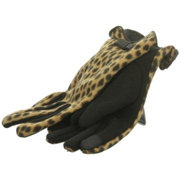 Seiden-Grohn Handschuhe braun