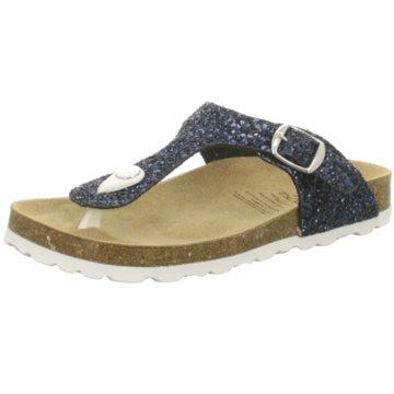 BIO POINT Offene Schuhe blau
